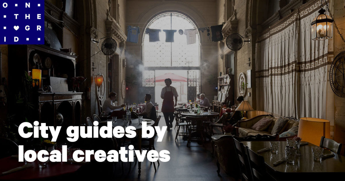 City guides by local creatives